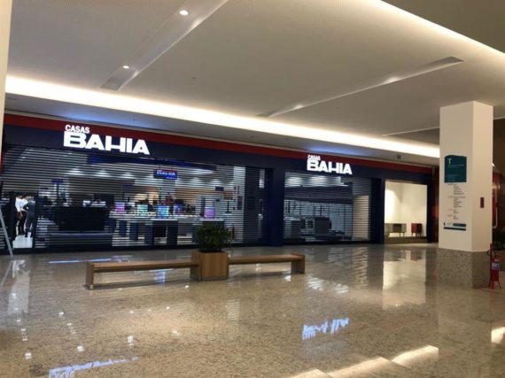 Casas Bahia - Patteo Olinda Shopping - Olinda/PE | Paraguaçu Engenharia