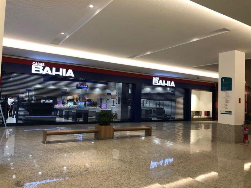 Casas Bahia - Patteo Olinda Shopping - Olinda/PE   Paraguaçu Engenharia