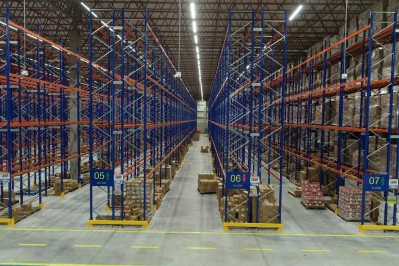 Centro de Distribuição - Le Biscuit   Paraguaçu Engenharia