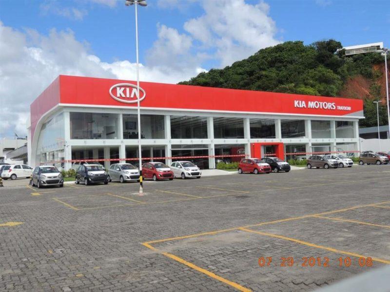 KIA Motors - Itapuã - Salvador/BA   Paraguaçu Engenharia