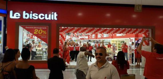 Le Biscuit Parque Shopping Bahia | Paraguaçu Engenharia