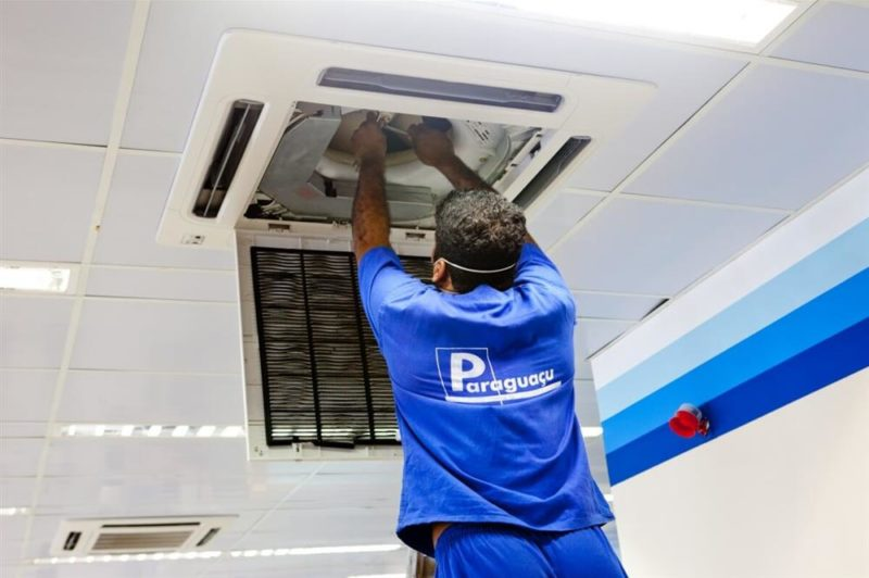 Manutenção Preventiva de Ar-Condicionado   Paraguaçu Engenharia