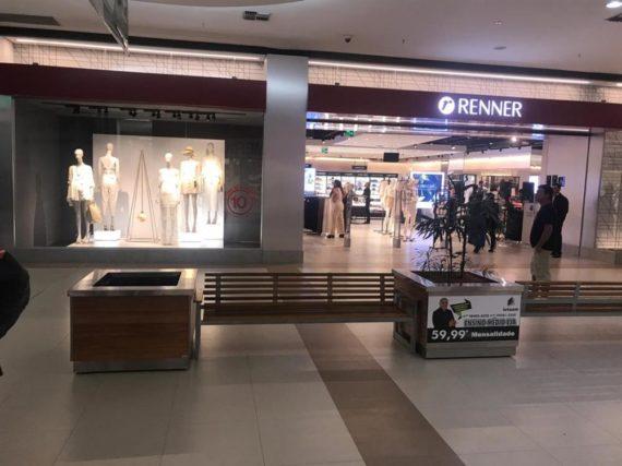 Renner - Shopping Tapajós - Santarém/PR | Paraguaçu Engenharia